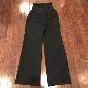 Gap maternity black dress pants size 10